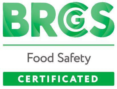 BRC Food BW Logo